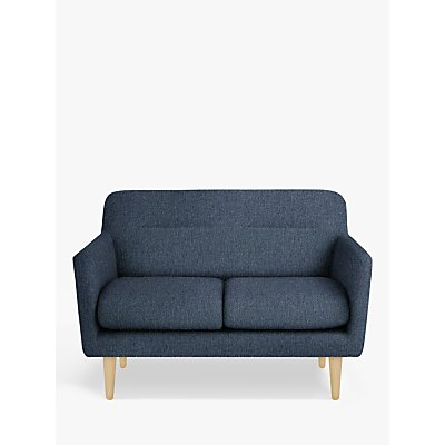 House by John Lewis Archie II Small 2 Seater Sofa, Light Leg