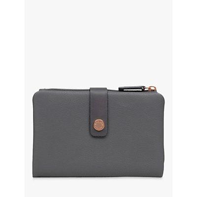 Radley Larks Wood Medium Folded Leather Purse  Grey - 5025546433865