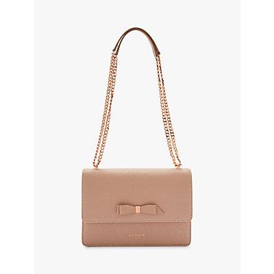 Ted Baker Joanaa Bow Leather Cross Body Bag