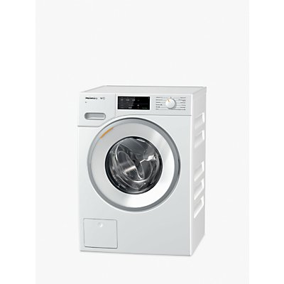 Miele WWG120 XL Freestanding Washing Machine, 9kg Load, A+++ Energy Rating, 1600rpm Spin, White