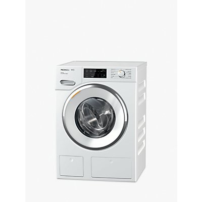 Miele WWI660 TwinDos Freestanding Washing Machine, 9kg Load, A+++ Energy Rating, 1600rpm Spin, White