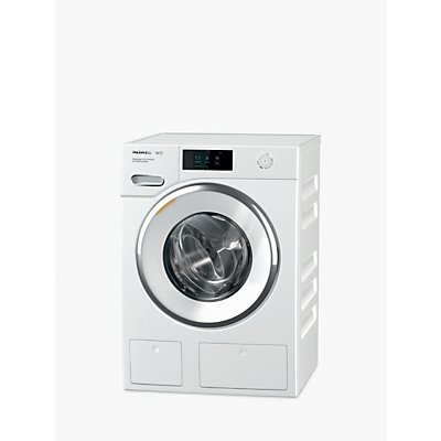Miele WWR860WPS Freestanding Washing Machine, 9kg Load, A+++ Energy Rating, 1600rpm Spin, White