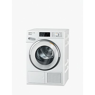 Miele TWJ680WP Smart Heat Pump Tumble Dryer, 9kg Load, A+++ Energy Rating, White
