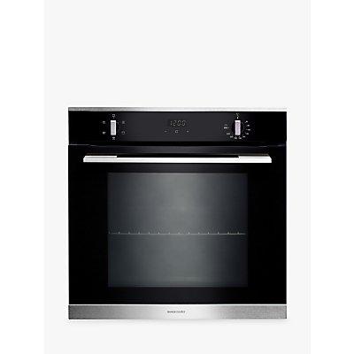 Rangemaster RMB605BL/SS Built-In Single Oven, Black