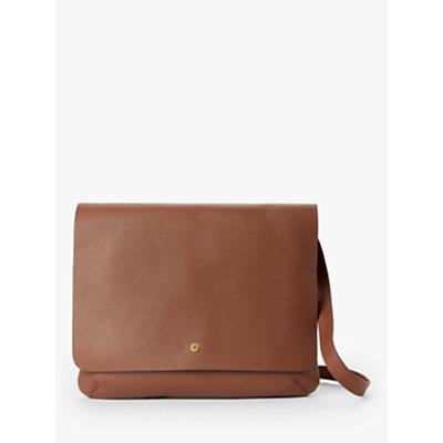 John Lewis & Partners Mae Leather Medium Cross Body Bag