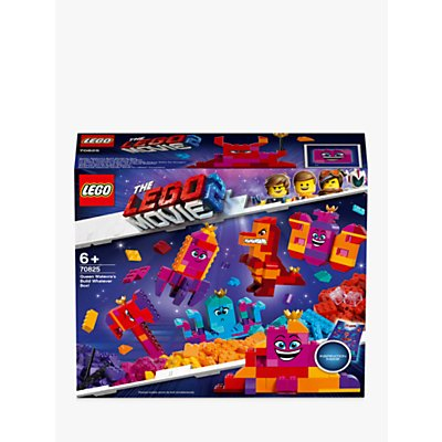 LEGO THE LEGO MOVIE 2 70825 Queen Watevra's Build Whatever Box Construction Toys with Minifigures