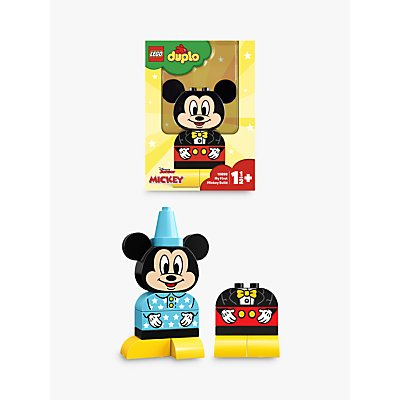 LEGO DUPLO 10898 My First Mickey Build, Mickey Mouse Toy for 1-2 yrs