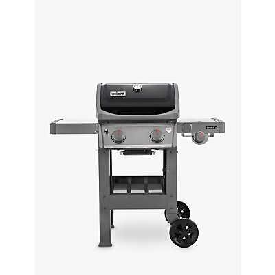 Weber Spirit E-220 2-Burner Gas BBQ with Side Burner