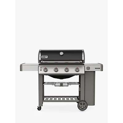 Weber Genesis II E-410 4-Burner Gas BBQ, Black