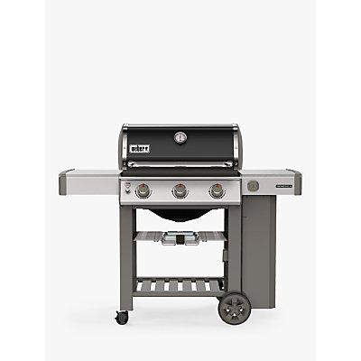 Weber Genesis II E-310 3-Burner Gas BBQ, Silver/Black