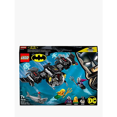 LEGO DC Super Heroes 76116 Batman Batsub and The Underwater Clash