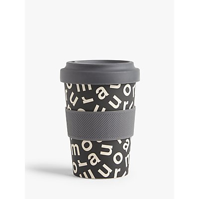 House by John Lewis Amour Bamboo Reusable Travel Cup  500ml - 5057618551214