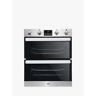 Belling BI702FPCT Built-Under Double Electric Oven, A Energy Rating