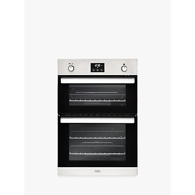 Belling BI902G Built-In Gas Oven, A/A Energy Rating, Stainless Steel