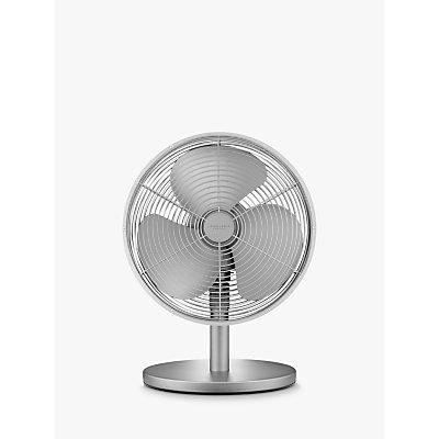 John Lewis & Partners 12 Desk Fan, Nickle
