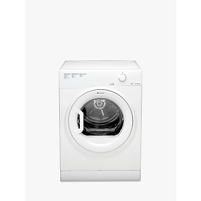Hotpoint TVFM70BGP Freestanding Tumble Dryer, 7kg Load, B Energy Rating, White