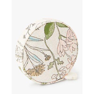 John Lewis & Partners Floral Print Dressmaking Tape Measure, Cream