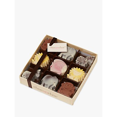 Choc on Choc Zoo Animals Chocolates, Box of 9, 200g
