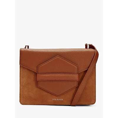 Ted Baker Willoww Leather Suede Cross Body Bag