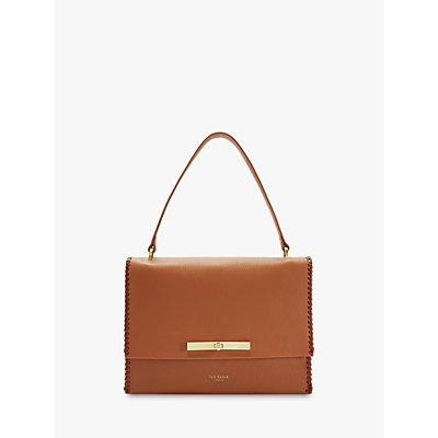 Ted Baker Chita Leather Shoulder Bag, Tan