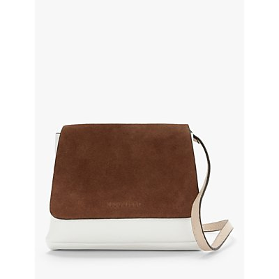 Neuville Baby City Suede Leather Cross Body Bag