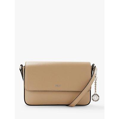 DKNY Bryant Leather Medium Flap Cross Body Bag
