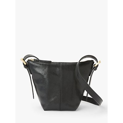 John Lewis & Partners Kepley Leather Small Cross Body Bag