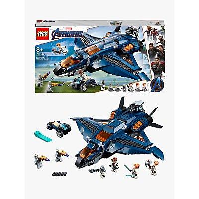 LEGO Marvel Avengers 76126 Ultimate Quinjet Plane