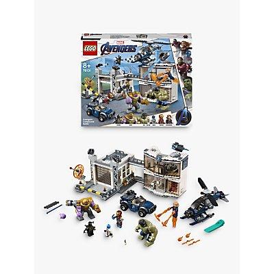 LEGO Marvel Avengers 76131 Compound Battle