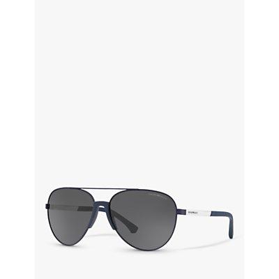Emporio Armani EA2059 Men s Aviator Sunglasses - 8056597029001