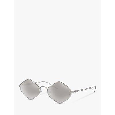 Emporio Armani EA2085 Men s Irregular Sunglasses  Silver Mirror Grey - 8056597022989