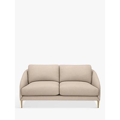 John Lewis & Partners Cape Medium 2 Seater Sofa, Light Leg, Edie Dusky Pink