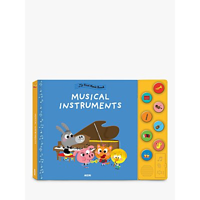 My First Music Book Musical Instruments Children's Book