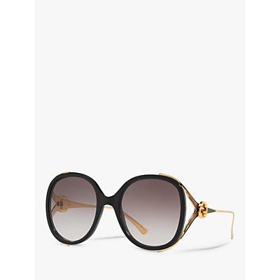 Gucci GG0226S Women s Statement Oval Sunglasses - 889652090511