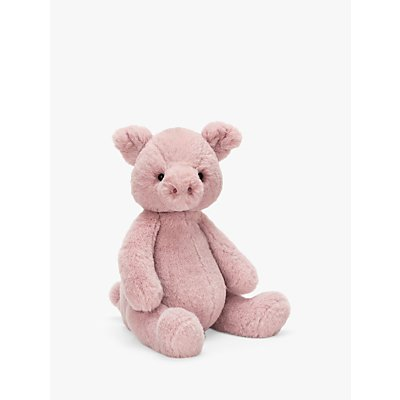 Jellycat Puffles Piglet Soft Toy, Medium