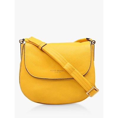 Kurt Geiger Emma Small Leather Saddle Bag