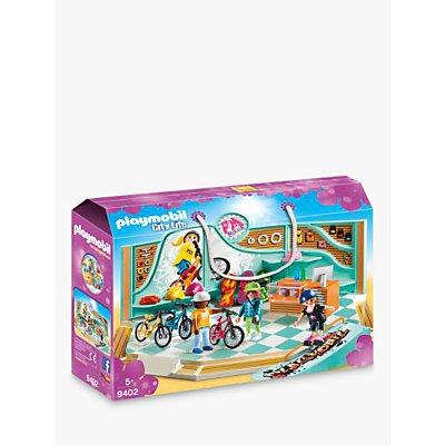 Playmobil City Life 9402 Bike and Skate Shop