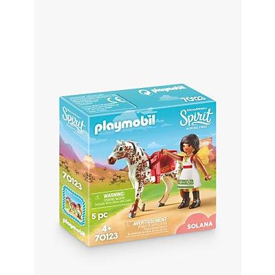 Playmobil Dreamworks Spirit Riding Free 70123 Vaulting Solana
