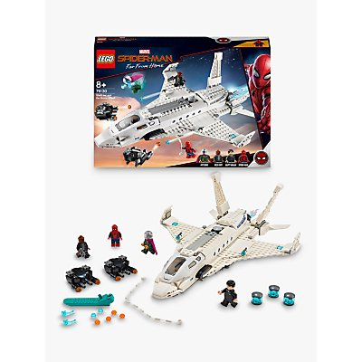 LEGO Marvel Spider-Man 76130 Stark Jet and the Drone Attack