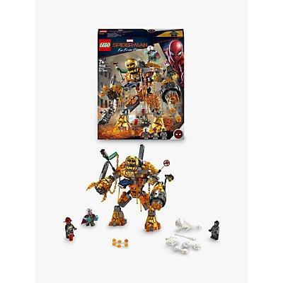 LEGO Marvel Spider-Man 76128 Molten Man Battle
