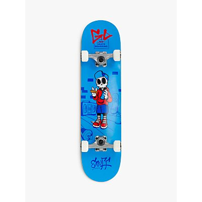 Enuff Skully Mini Skateboard, Blue