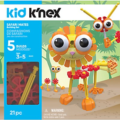 K'Nex 85613 Kid K'nex Safari Mates Building Set