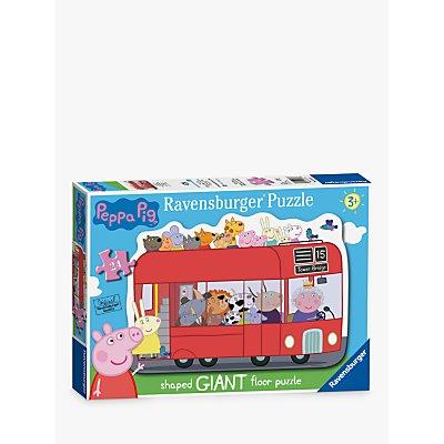 Ravensburger Peppa Pig London Bus Giant Floor Jigsaw Puzzle
