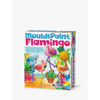 Mould & Paint Magnetic Flamingo Kit