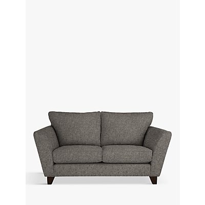 John Lewis & Partners Oslo Small 2 Seater Sofa, Dark Leg, Riley Steel Grey