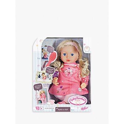 Zapf Baby Annalbel Sophia So Soft Doll