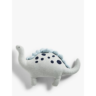little home at John Lewis Dennis Dinosaur Soft Toy  Blue - 5057618955968