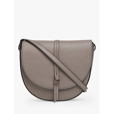L.K.Bennett Bluebell Leather Saddle Cross Body Bag