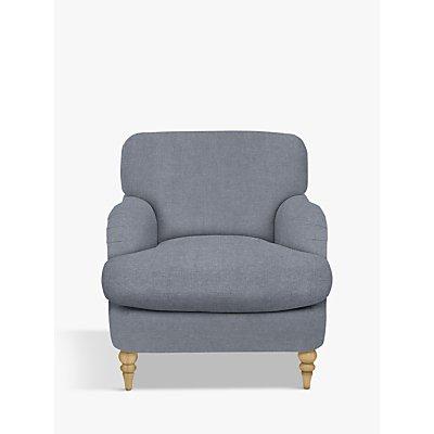 John Lewis & Partners Harrogate High Back Armchair, Light Leg, Erin Grey