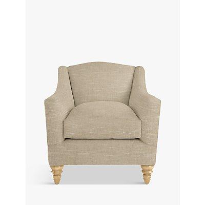 Croft Collection Melrose Armchair, Light Leg, Hope Caramel
